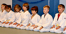 Jiu-Jitsu Training für Kinder